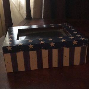 Cute jewelry box Americana